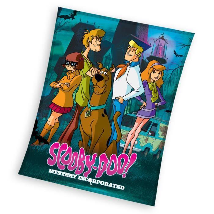 COUVERTURE - PLAID Scooby Doo mystère  couverture polaire