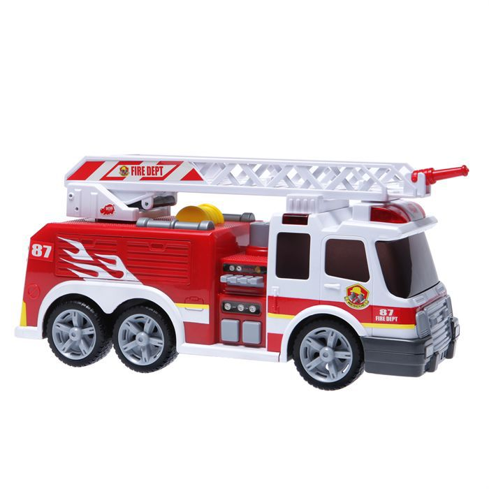 le camion de pompiers dickie toys achat vente univers miniature cdiscount. Black Bedroom Furniture Sets. Home Design Ideas