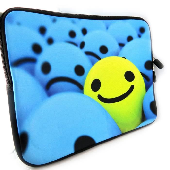 Housse tablette ipad smiley n opr ne 10 achat for Housse neoprene ipad