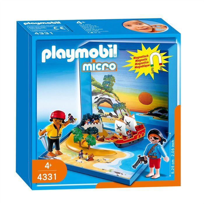 UNIVERS MINIATURE Playmobil Micro Playmo Pirates