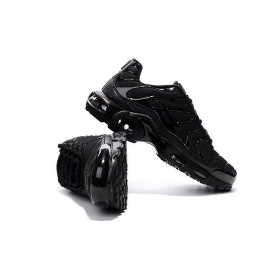 Nike Air Max Plus Tn Black / Noir - Cdiscount Chaussures