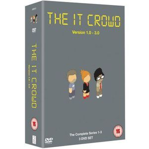 DVD SÉRIE The IT Crowd - Series 1-3 [Import anglais]