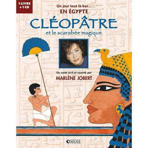 Livre 3-6 ANS Cléopâtre et le scarabée magique