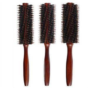 BROSSE - PEIGNE Brosse à cheveux peigne poils ronde peigne avec Tw