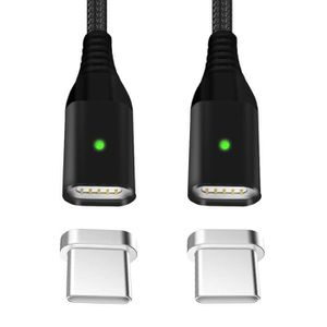 CÂBLE TÉLÉPHONE Magnétique Câble USB Type C à USB 3.0 Câble USB C