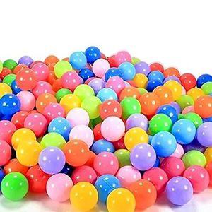 BALLES PISCINE À BALLES Vococal 100pcs 7cm piscine balles bebe plastique C