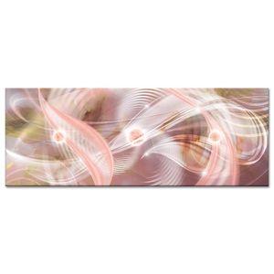 TABLEAU - TOILE Tableau Déco Panoramique Abstraite Fascinant - Abs