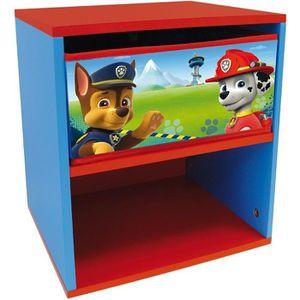 PETIT RANGEMENT  PAT PATROUILLE Table de chevet pour enfant