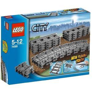 ASSEMBLAGE CONSTRUCTION LEGO CITY - 7499 - JEU DE CONSTRUCTION - RAILS …