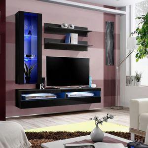 Meuble Tv Fly Design Coloris Noir Et Blanc Brillant Meuble Suspendu Moderne Et Tendance Pour Votre Salon Achat Vente Meuble Tv Meuble Tv Fly Design Coloris Cdiscount
