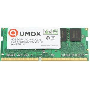 MÉMOIRE RAM QUMOX 4Go DDR4 2133 2133MHz CL15 PC4-17000 PC-1700