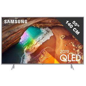 Téléviseur LED TV LED plus de 52 pouces SAMSUNG - QE 55 Q 64 R •