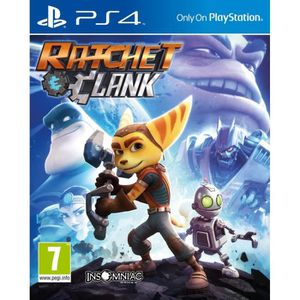 JEU PS4 Ratchet and Clank (PS4 Only)