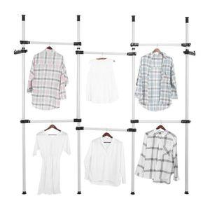 PENDERIE MOBILE DIY Penderie modulable Porte-vêtement portant  ext