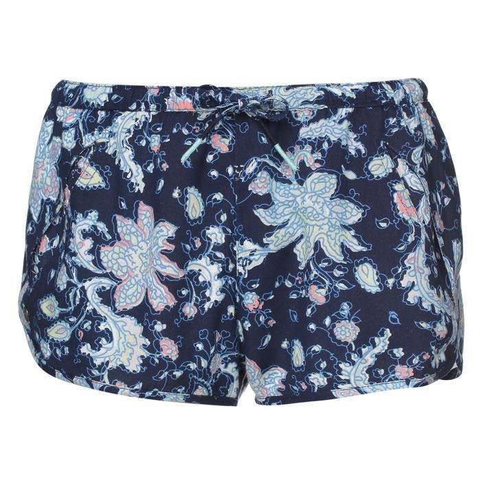 ROXY Short Run Away - Femme - Bleu