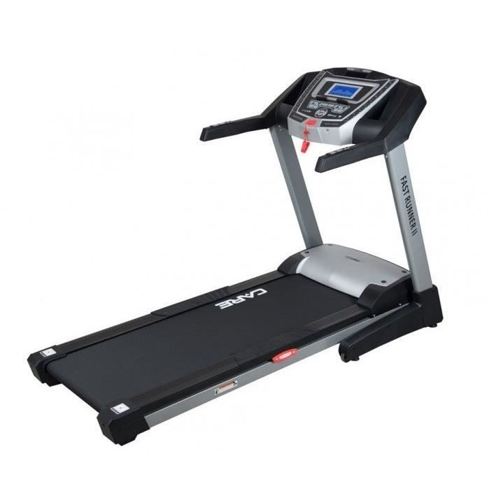 CARE Tapis de Course pliable Fast-Runner 22 km/h - 2.5 CV - 150 x 52