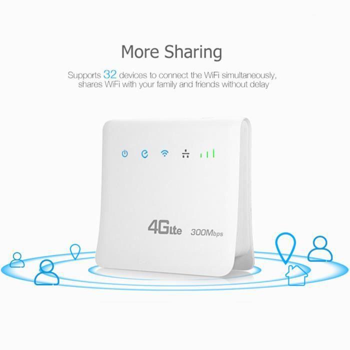300 Mbps Wifi mobile 4G wifi routeur surport Sim Inde Bangladesh Vietnam Iran @Los953