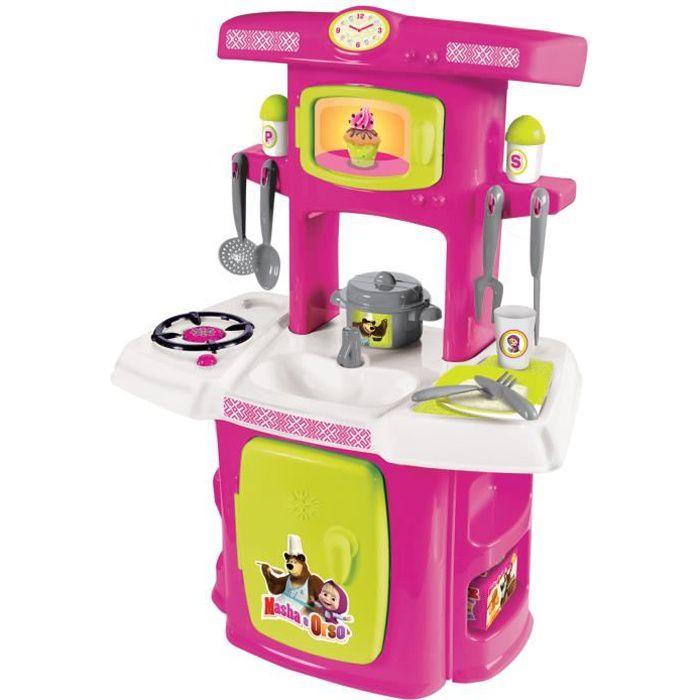 Simba Toys Masha Première Cuisine Avec 14 Accès. - Jeux-Jouets