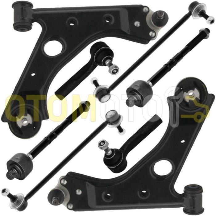 Kit bras de suspension avant compatible CITROEN NEMO composé de 8 pièces