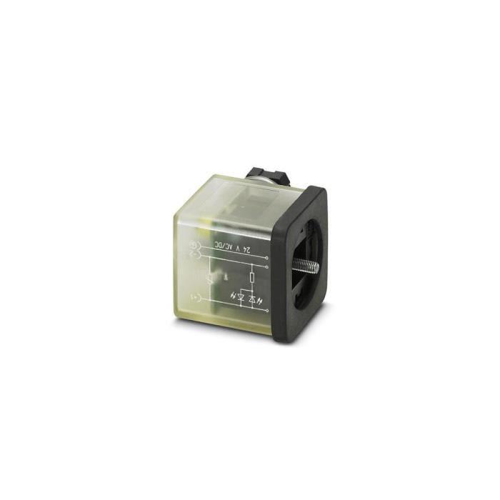 Connecteur pour électrovannes Conditionnement: 1 pc(s) Phoenix Contact SACC-VB-3CON-M16/A-1L-SV 230V 1452165