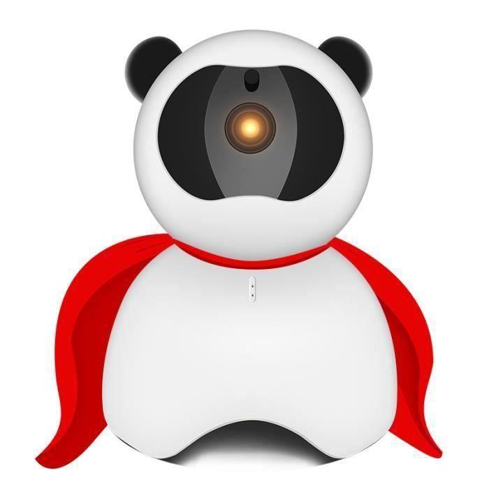 Lanvy Caméra IP sans fil Webcam intelligent surveillance WIFI 1 million Pixel alerte avertir