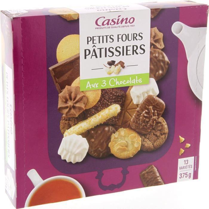 Biscuits Assortiment petits fours pâtissiers - 13 variétés - 375 g