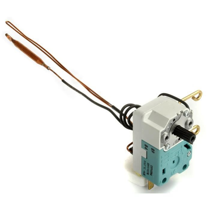 Thermostat à régulation version mono ou bi-bulbe type BBSC, L de canne: 400mm
