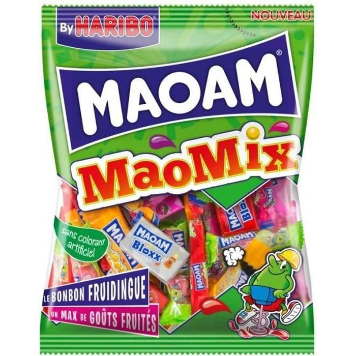 HARIBO Bonbons tendres Maoam MaoMix - 250 g