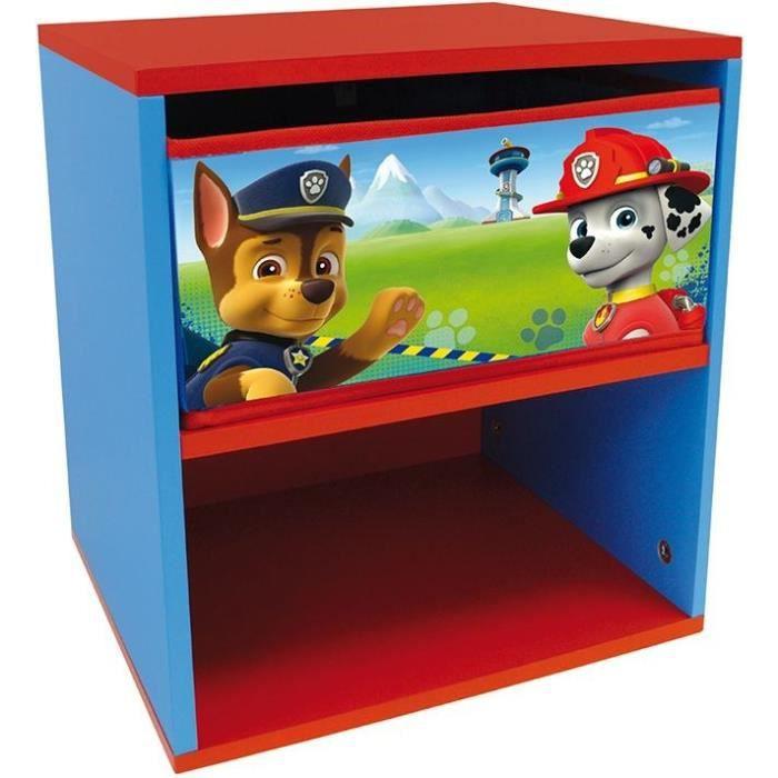 PAT PATROUILLE Table de chevet pour enfant