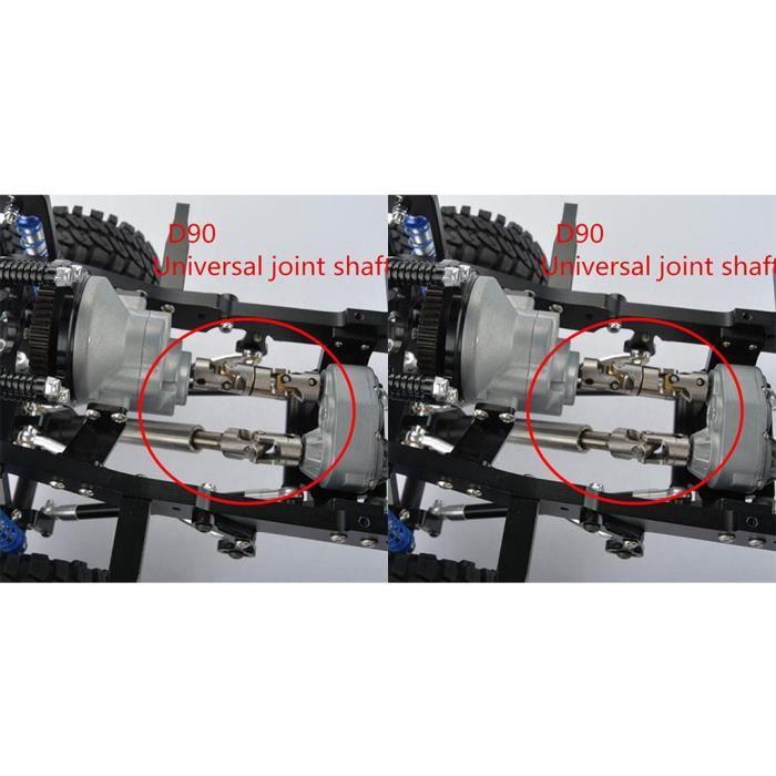 PIECE DETACHEE DRONE Accouplements universels 5 pièces de 4 à 6 mm