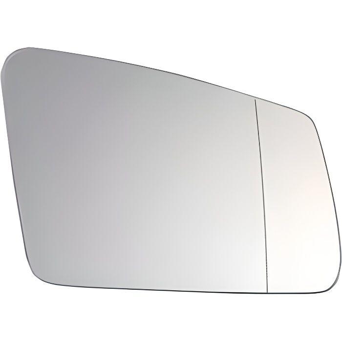 Miroir Glace rétroviseur droit pour MERCEDES (W176) CLASSE A depuis 2015, dégivrant, asphérique Neuf.