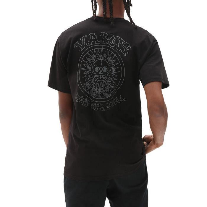 Vans T-Shirt pour Homme El Sole Noir VN0A54CQBLK