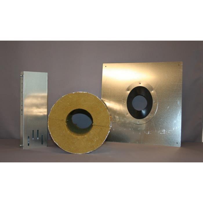 CONVESA Solution thermique - Ø 80 mm - Conduit isolé