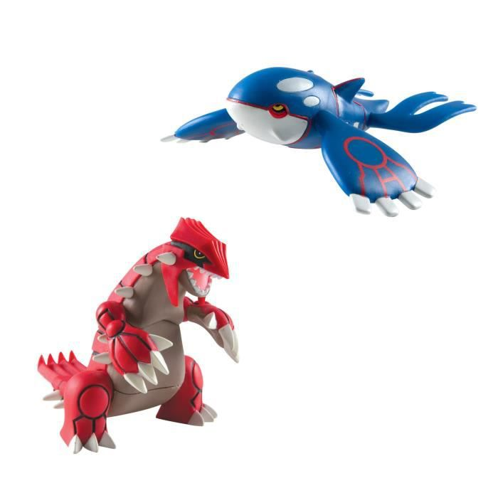 Figurine Miniature TOMY Pokémon multi figure légendaire pack KT01U