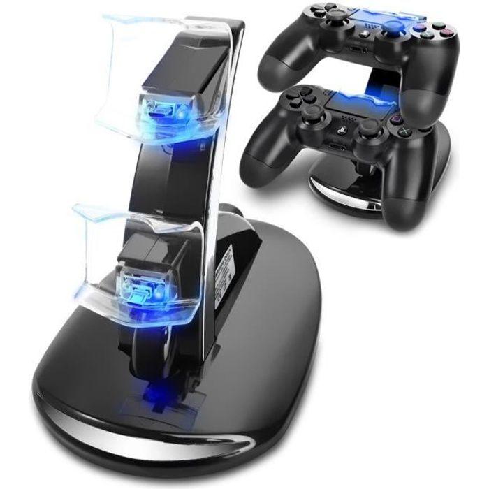 Station de Rechargement pour Manette PS4 Chargeur DualShock