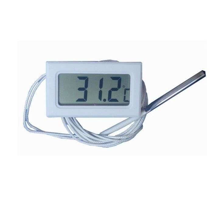 300 c thermom tre num rique four digital lcd sonde - Thermometre cuisine sonde ...