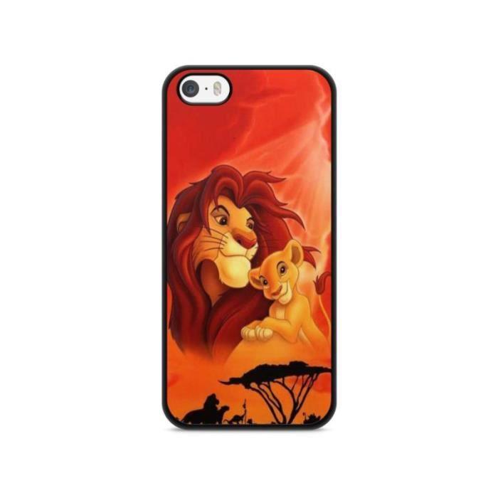 coque iphone 5 5s se roi lion simba pumba lion