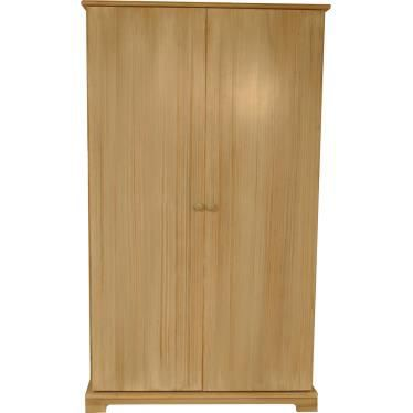 armoire lidou 2 portes pic a massif c rus blanc c rus. Black Bedroom Furniture Sets. Home Design Ideas