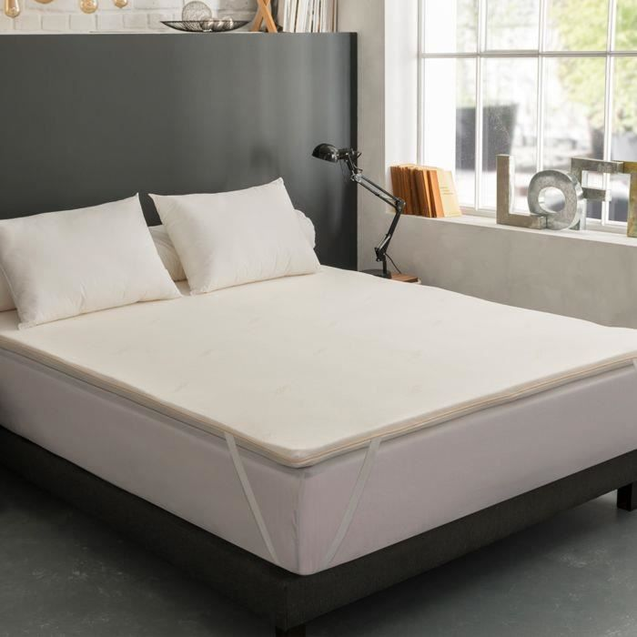surmatelas m moire de forme 140x190 esp 6 cm achat vente sur matelas cdiscount. Black Bedroom Furniture Sets. Home Design Ideas