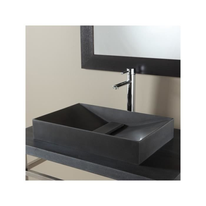 vasque poser pyramide en pierre achat vente lavabo vasque 111102 vasque poser rectan. Black Bedroom Furniture Sets. Home Design Ideas