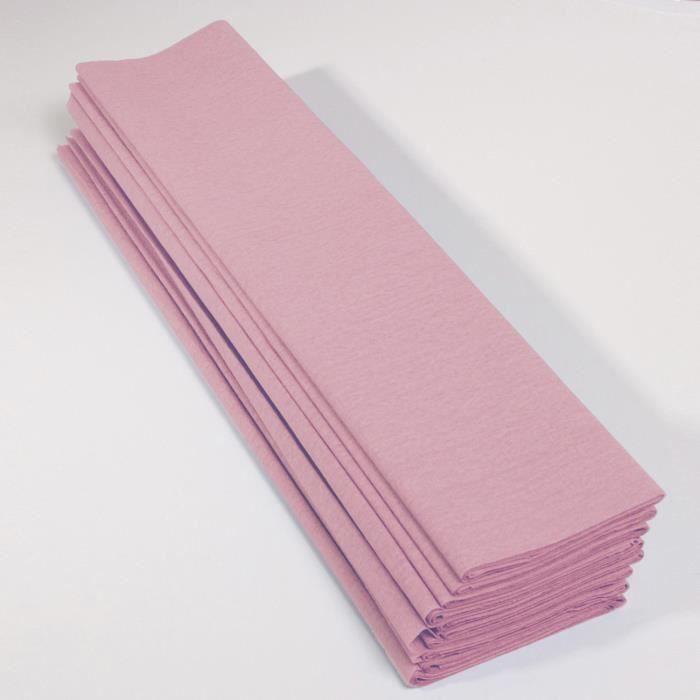 18 grs 48 feuilles de papier de soie Jaune Pale format 37 cm x 50 cm