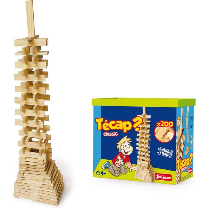 ASSEMBLAGE CONSTRUCTION JEUJURA - Construction -TECAP? Classic 200 pieces