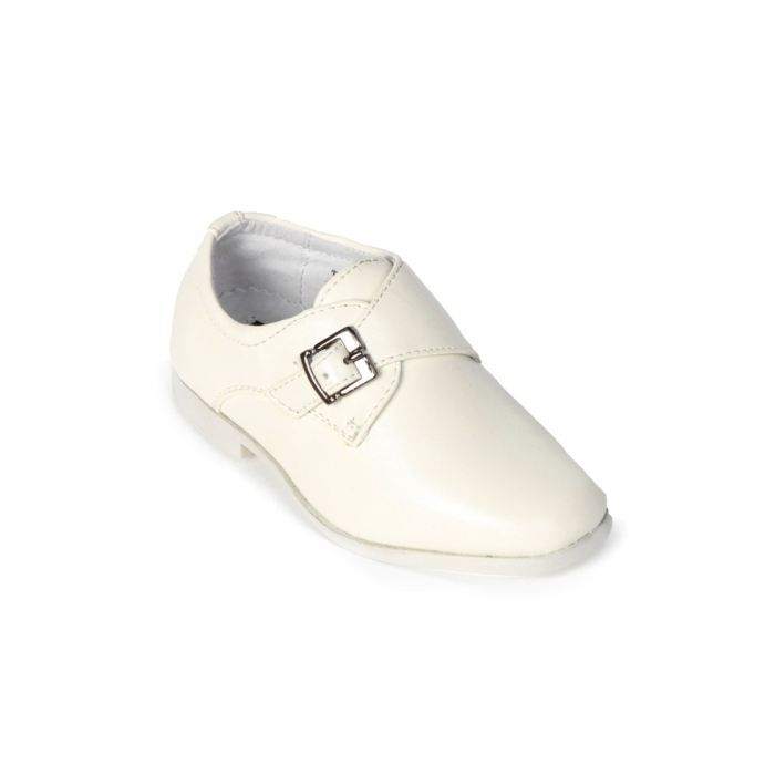 enfant chaussures b b mariage blanc achat vente mocassin cdiscount. Black Bedroom Furniture Sets. Home Design Ideas