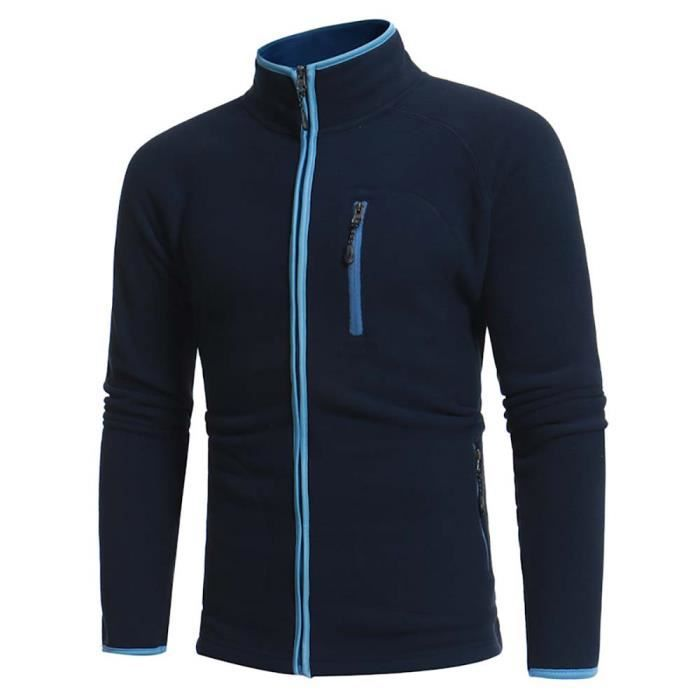 the latest ee308 5261d sweat-unie-col-officier-ouverture-zippee-homme-ves.jpg