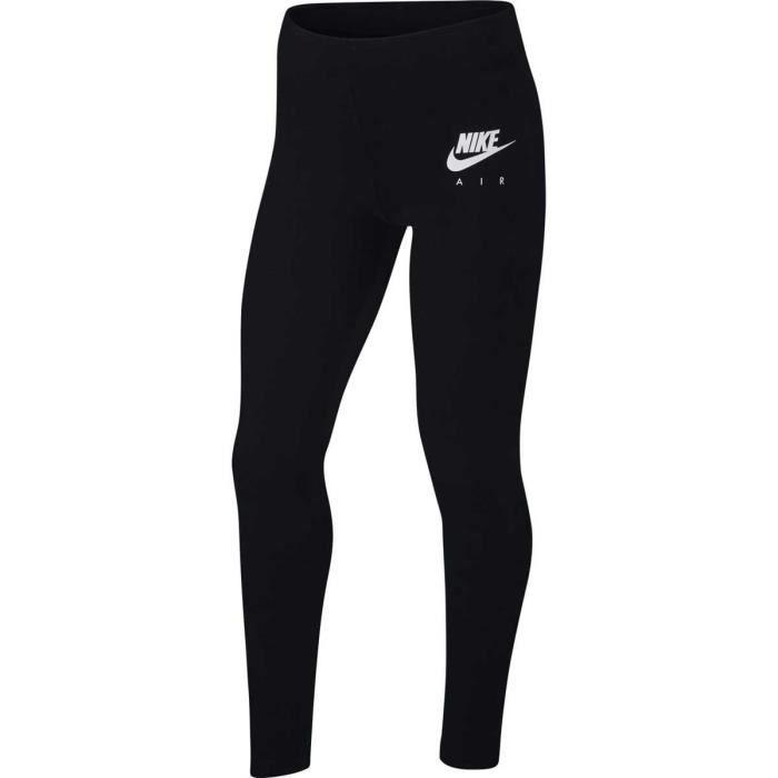 Legging Nike Favorites Air Junior - Femme - Noir Noir ...