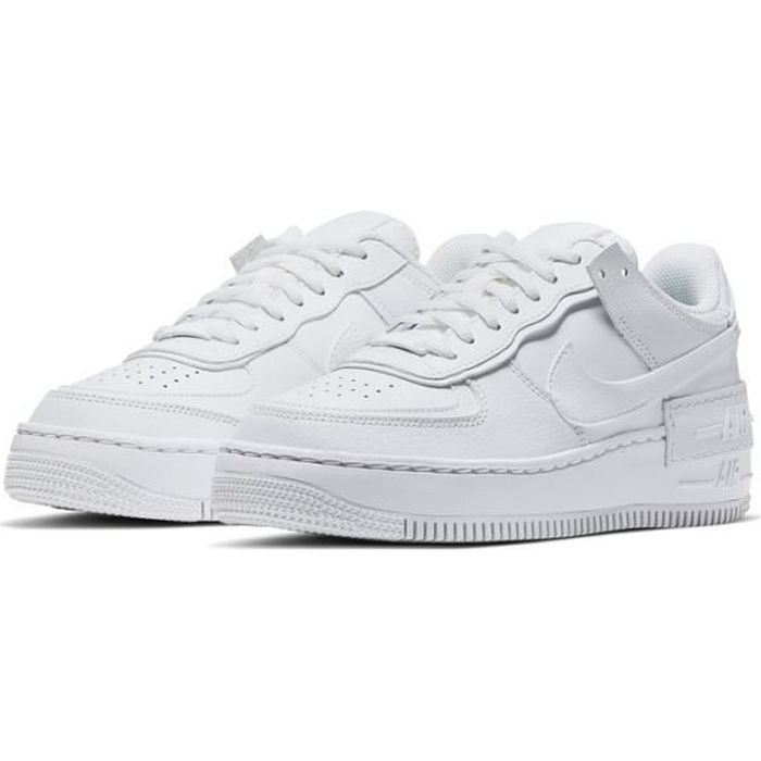 air force 1 shadow chaussures baskets airforce one pour femme gris