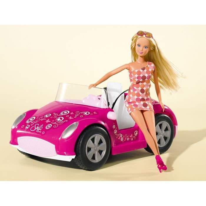 steffi love et sa voiture de plage achat vente accessoire poupee steffi love voiture de. Black Bedroom Furniture Sets. Home Design Ideas