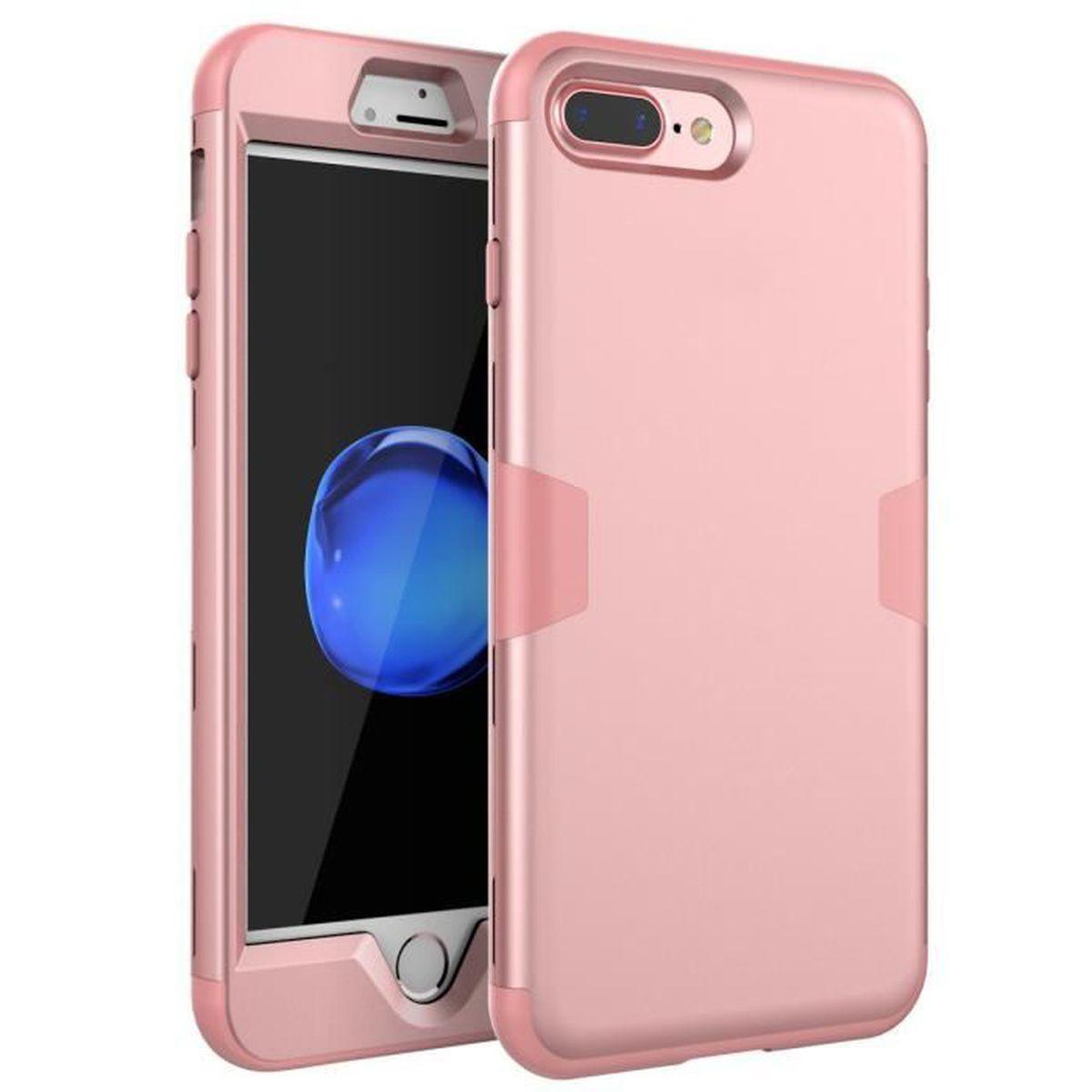 COQUE - BUMPER Coque iPhone 7 Plus, Coque iPhone 8 Plus, Coque de