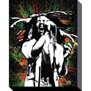 tableau bob marley achat vente tableau bob marley pas cher cdiscount. Black Bedroom Furniture Sets. Home Design Ideas