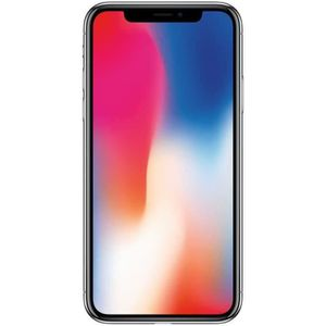 SMARTPHONE iPhone X 256 Go Gris Sideral Reconditionné - Très
